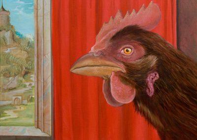 Bis Heute nicht • 2014, Acryl auf Leinwand, 50 x 60 cm