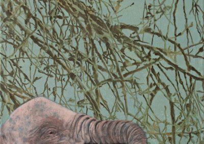 Das muß schon • 2005, Acryl auf Leinwand, 50 x 60 cm