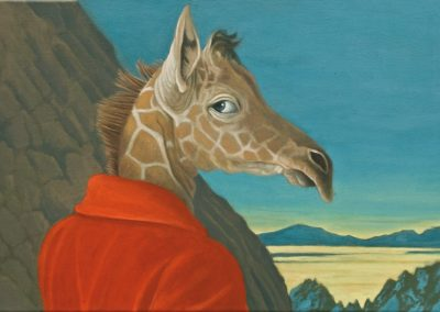 Soviel ist sicher • 2004, Acryl auf Leinwand, 49 x 80 cm