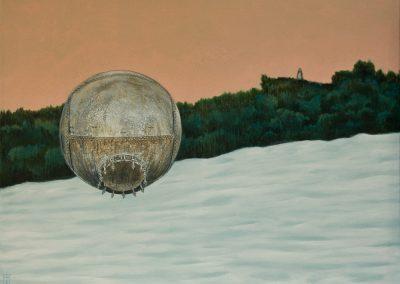 Vielleicht war es das • 2013, Acryl auf Leinwand, 60 x 80 cm