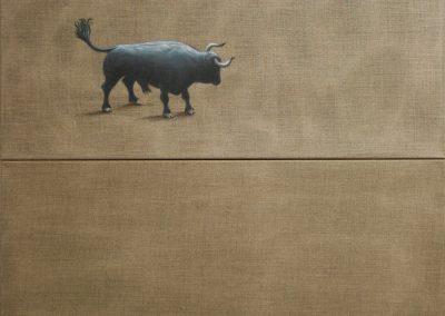 Das war alles • 2005, Acryl auf Leinwand, 160 x 100 cm