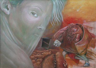 Irgendwo, wo es einsam ist • 2007, Öl auf Leinwand, 50 x 70 cm