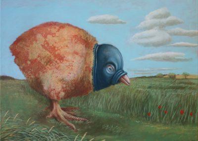 Sommermorgen • 2005, Acryl auf Leinwand, 80 x 100 cm