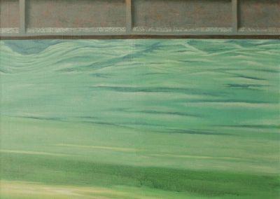 Wir machen das einfach • 2005, Acryl auf Leinwand, 150 x 110 cm